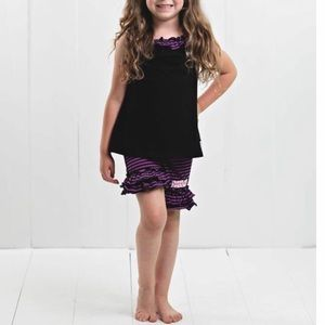 Other - Ruffle girl matched set size 6